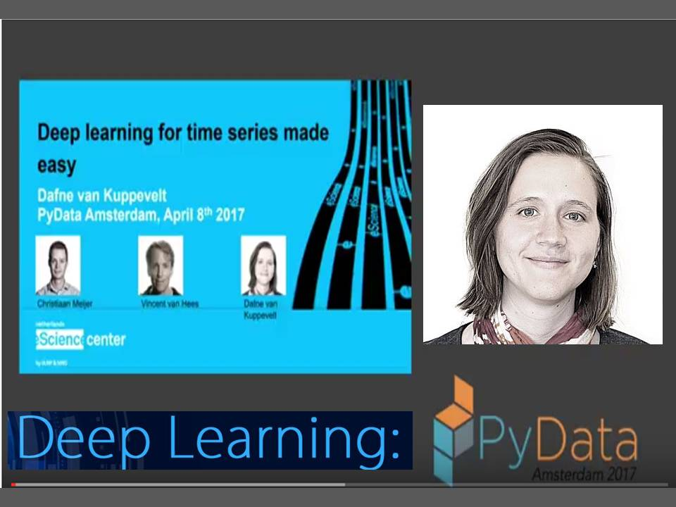 Deep learning for time series made easy: Dafne van Kuppevelt