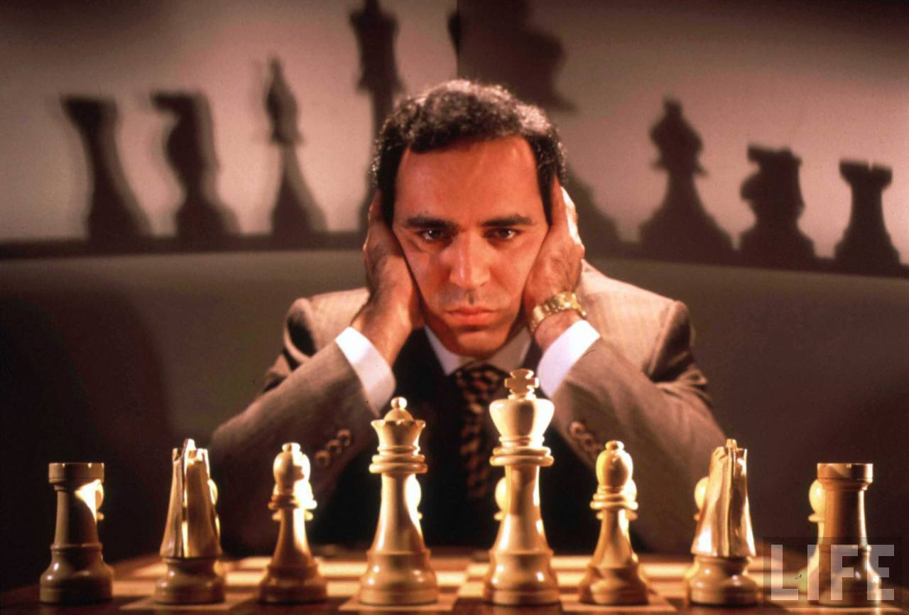 Don't fear Intelligent Machines. Work with them: Kasparov