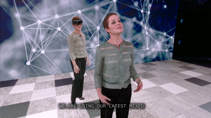 The magic of AI neural TTS and holograms at Microsoft